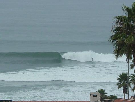 Surfing View from Sun Deck